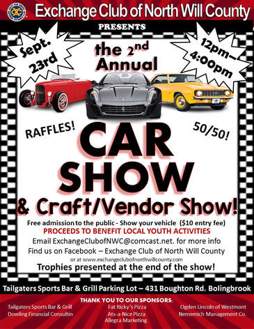 Exchange News - Car show vendor ideas